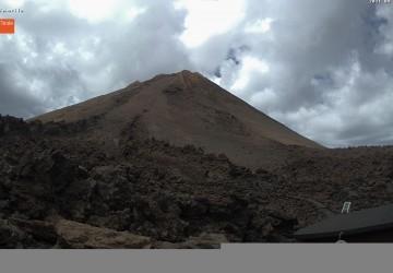 Webcam Blick in den Nachthimmel des Teide